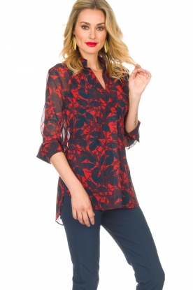 By Malene Birger | Blouse Breeza | rood