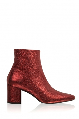 Toral |  Leather ankle boots Dameira | red