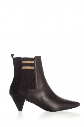 Toral |  Leather ankle boots Lola | black