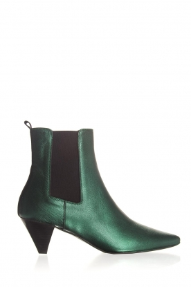 Toral |  Leather ankle boots Eclat | green