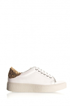 SVNTY |  Leather sneakers Praia | white