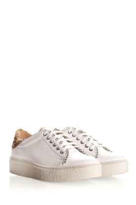 SVNTY | Leren sneakers Praia | wit