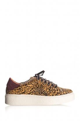 SVNTY | Leather sneakers Praia | print