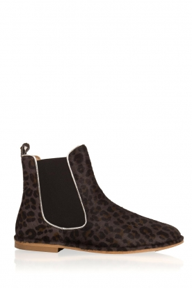 Maluo |  Leather ankle boots Cato | brown