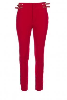 Aaiko | Pantalon Tayas | rood