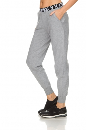DKNY Sport | Sweatpants met logo Stevie | grijs
