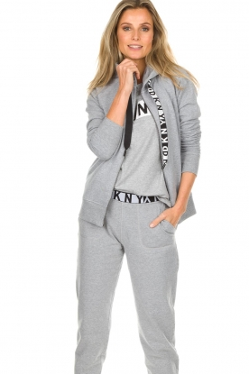 DKNY Sport |  Sports cardigan with logo on the back Kyra | grey