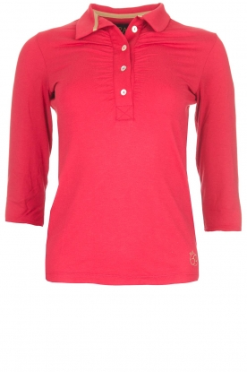 Par 69 |  Golf polo Bien Long | red