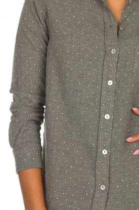 Knit-ted   Blouse Alicia   grijs