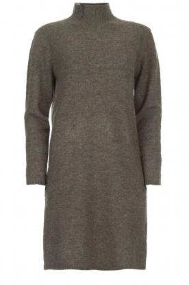 Knit-ted   Trui jurk Talja   grijs