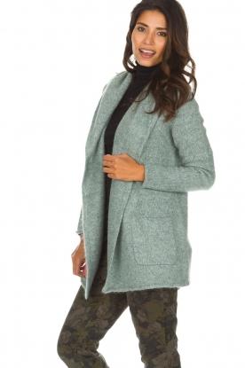 Knit-ted | Vest Tori | groen