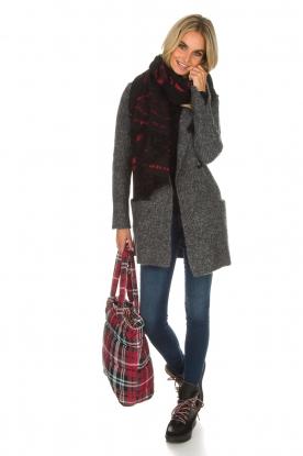 Knit-ted | Vest Lotte | grijs