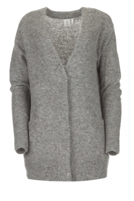 Knit-ted |  Cardigan Tatiana | grey
