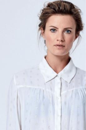 Knit-ted | Blouse Dakota | wit