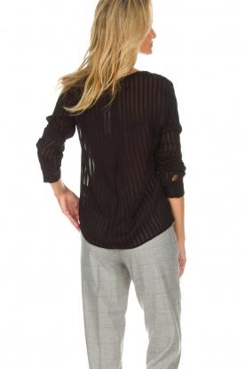 Knit-ted | Top Dionne | zwart