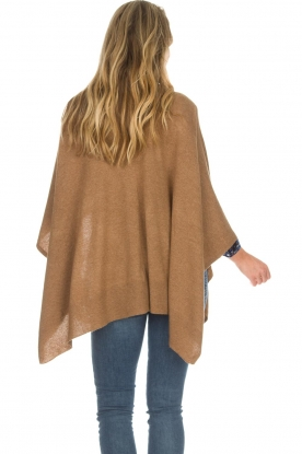 Knit-ted | Poncho Tara | camel