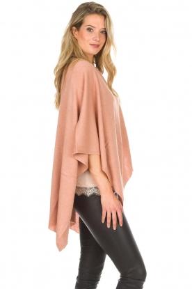 Knit-ted   Poncho Tara   roze