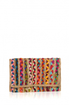 BVL | Rattan clutch Playa | multi