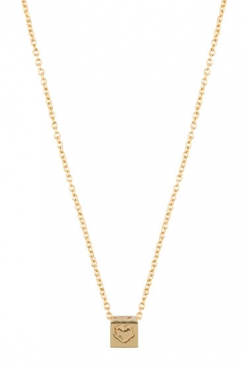 Just Franky |  14k golden necklace 39-41 cm | gold