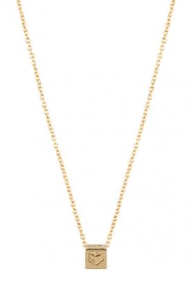 14k gouden ketting Cube 42-44 cm  goud