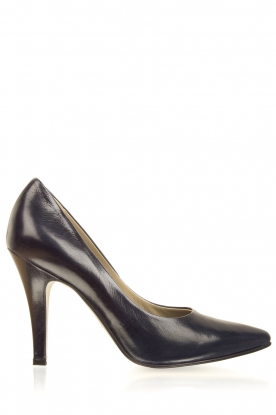 Noe |  Leather pumps Nicole | dark blue