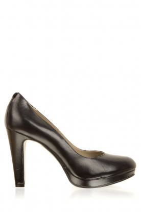 Noe |  Leather pumps Nabla | black