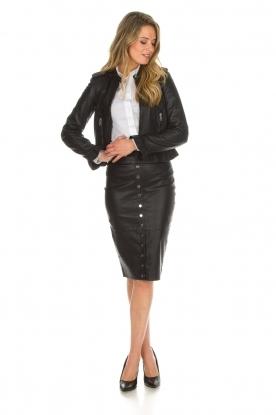 Noe |  Leather pumps Nicole | black