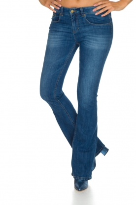 Lois Jeans | Flared jeans Melrose L34 | vintage blauw