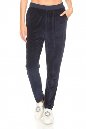 American Vintage   Joggingbroek Isac   donkerblauw