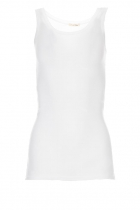 American Vintage |  Sleeveless top Massachusetts | white