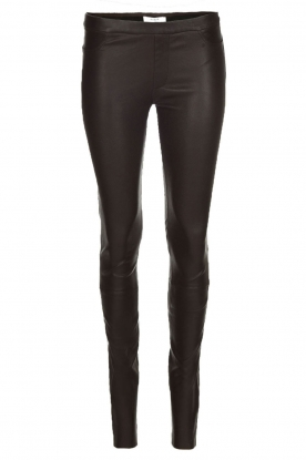 Dante 6 |  Stretch leather leggings Campbell | black