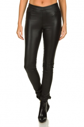 Dante 6 |  Leather leggings Campbell | black