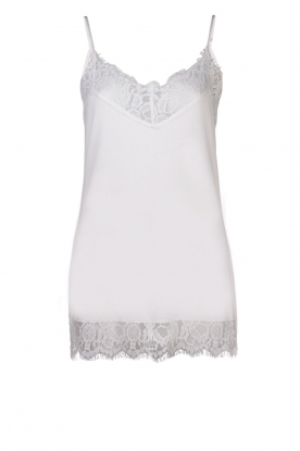 Dante 6 | Top with lace Dalia | white