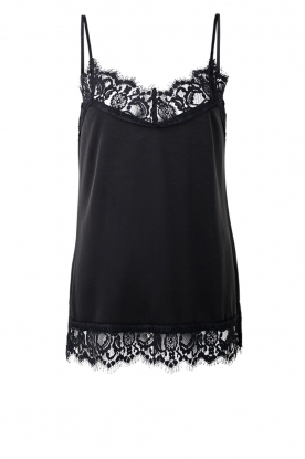 Dante 6 | Top with lace Dalia | black