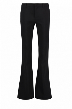 Aaiko | Flared trousers Flarene | black
