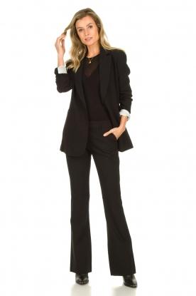 Aaiko |  Flared trousers Flarene | black