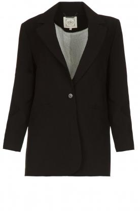 Aaiko | Klassieke blazer Latina | zwart