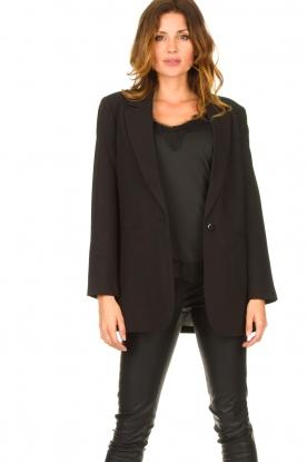 Aaiko |  Classic blazer Latina | black