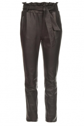 Dante 6 | Leather pants Duncan | black