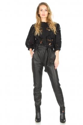 Dante 6 | Leather pants Duncan | black