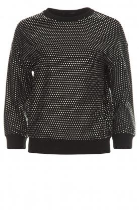 Silvian Heach | Sweatshirt Erana | zwart