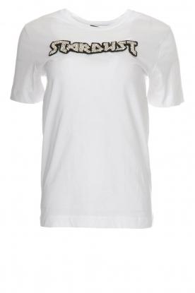 Silvian Heach | T-shirt Hamilton | wit