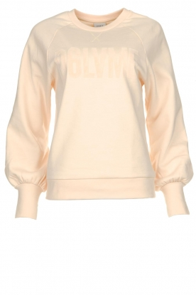 Dante 6 |  Sweater with balloon sleeves Love Me | soft pink
