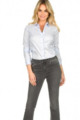 Set |  Basic blouse Maxime | light blue