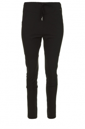 D-ETOILES CASIOPE | Travelwear broek Guet | zwart