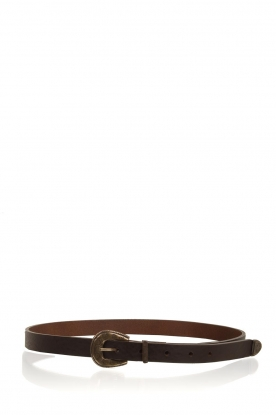So Jamie | Leather belt Blaide | brown