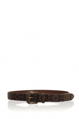 So Jamie |  Leather belt Lindsay | brown