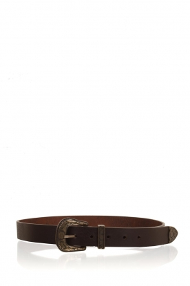 So Jamie |  Leather belt Melody | brown
