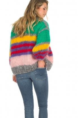 Les tricots d'o | Vest Ibana | groen