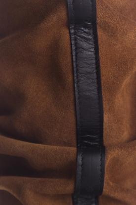 Toral | Hoge leren laarzen Ally | camel